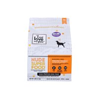 I and Love and You Nude Food Dog Kibble, Poultry Palooza, 5 Pound