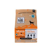 I and Love and You Baked & Saucy Dog Kibble, Chicken & Sweet Potato, 4 Pound