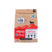 I and Love and You Baked & Saucy Dog Kibble, Beef & Sweet Potato, 4 Pound