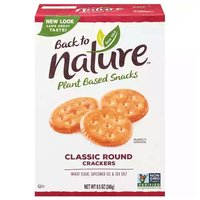 Back to Nature Classic Round Crackers, 8.5 Ounce