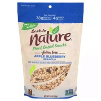 Back To Nature Granola, Apple, Blueberry, 12.5 Ounce