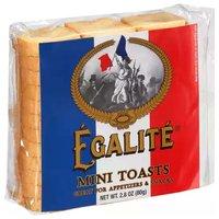 Egalite Mini Toasts, 2.82 Ounce