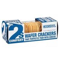 2S Company Wafer Crackers, Original, 3.5 Ounce