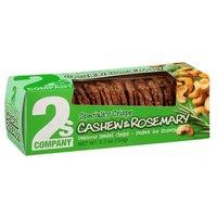 2s Co Crisps Cashew Rosemary, 5.3 Ounce