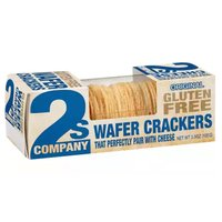 2S Company Wafer Crackers, Original, Gluten Free, 3.5 Ounce