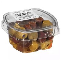 Fresh Pack Pitted Olive Mix Italian, 4.4 Ounce