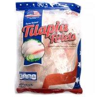 Great American Fillets, Tilapia, Frozen, 3 Pound