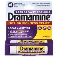 Dramamine Less Drowsy, 8 Each