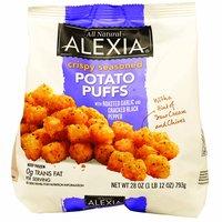 Alexia Crispy Seasoned Potato Puffs, Roasted Garlic & Cracked Black Pepper, 28 Ounce