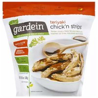 Gardein Chick'n Strips, Teriyaki, 10.5 Ounce