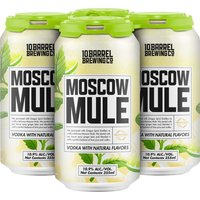 10 Barrel Moscow Mule, Cans (Pack of 4), 12 Ounce