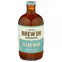 Brew Dr Kombucha Organic Clear Mind, 14 Ounce