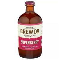 Brew Dr. Kombucha Superberry, 14 Ounce