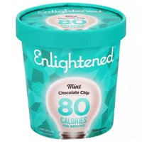 Enlightened Ice Cream, Mint Chocolate Chip, 16 Ounce
