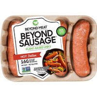 Beyond Meat Plant-Based Hot Italian Sausages, 14 Ounce