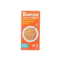 Banza Mac & Cheese, Chickpea Pasta Shells + Classic Cheddar, 5.5 Ounce