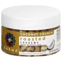 Karma Cashews Toasted Coconut, 8 Ounce