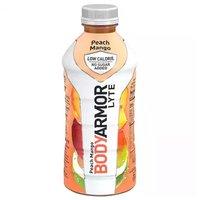 Body Armor Lyte Sports Drink, No Sugar Added, Peach Mango, 28 Ounce