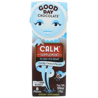 Good Day Chocolate Dietary Supplement, Calm, 0.99 Ounce