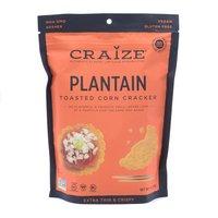 Craize Toasted Crisps, Plantain, 4 Ounce
