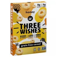 3 Wishes G/f Cereal Honey, 8.6 Ounce