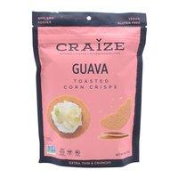 Craize Toasted Crisps, Guava, 4 Ounce