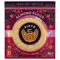 Siete Tortilla, Almond Flour, Grain Free, 7 Ounce
