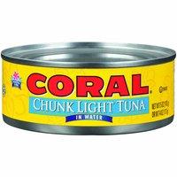 Coral Chunk Light Tuna in Water, 5 Ounce