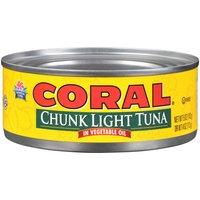 Coral Chunk Light Tuna, Oil, 5 Ounce