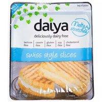 Daiya Swiss Cheese Slices, 7.8 Ounce