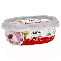 Daiya Cream Cheese Strawberry, 8 Ounce