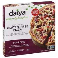 Daiya Thin Crust Pizza, Supreme, Gluten-Free, 19.4 Ounce