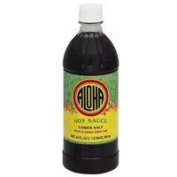 Aloha Soy Sauce, Low Salt, 24 Ounce