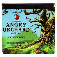 Angry Orchard Crisp Apple, Bottles (Pack of 6), 12 Ounce