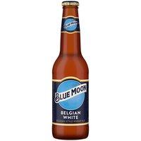 Blue Moon Beer, Belgian White, 12 Ounce