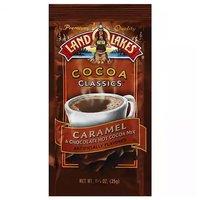 Land O' Lakes Hot Cocoa Mix, Caramel & Chocolate, 1.25 Ounce