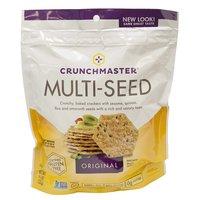 Crunchmaster Original Multi Seed Crackers, 4 Ounce