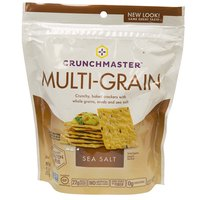 Crunch Master Sea Salt Crackers, 4 Ounce