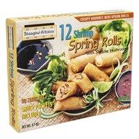 Shanghai Kitchen Spring Rolls, Shrimp, 9.7 Ounce