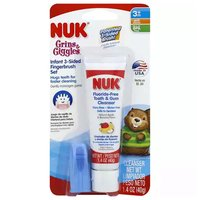 NUK Tooth Gum Cleaner Infant, 1.4 Ounce