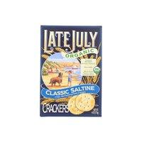 Late July Organic Saltine Crackers, 6 Ounce