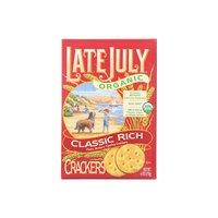 LJ Organic Rich Crackers, Classic, 6 Ounce