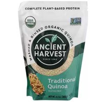 Ancient Harvest Organic Quinoa, White Grains, Traditional, 14.4 Ounce
