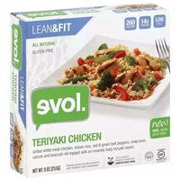 Evol Bowl, Teriyaki Chicken, 9 Ounce