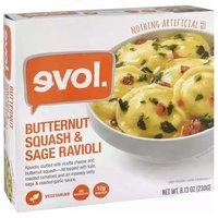 Evol Butternut Squash & Sage Ravioli, 8.13 Ounce