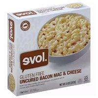 Evol Gluten Free Mac & Cheese, Bacon, 8 Ounce