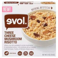 Evol 3 Cheese Mshrm Risotto, 9 Ounce