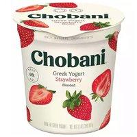 Chobani Non-Fat Greek Yogurt, Strawberry, 32 Ounce