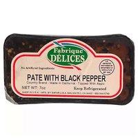 Fabrque Black Pepper Pate, 7 Ounce