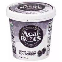 Acai Roots Organic Acai Sorbet, 16 Ounce